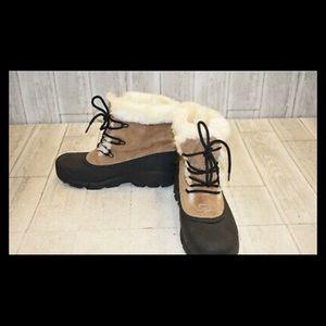 Sorel snow angel boots 10